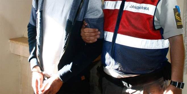 Sınırda 'canlı bomba' düzeneğiyle yakalandı