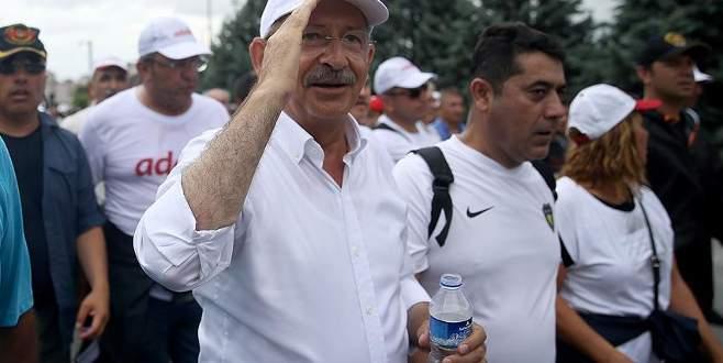 CHP yürüyüş güvenliği ile ilgili Meclis araştırması talep etti