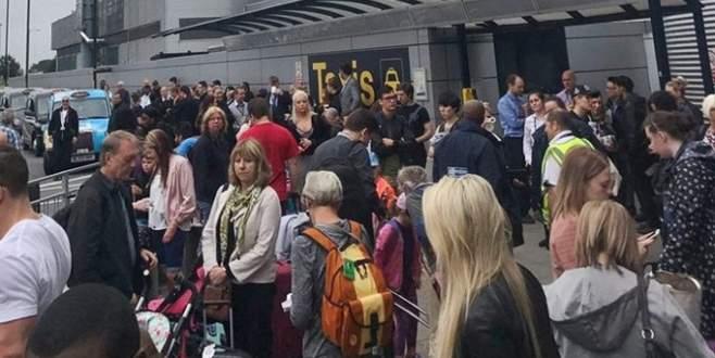 Manchester Havalimanı tahliye edildi