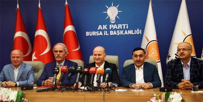 Bursa'daki 15 Temmuz programı açıklandı