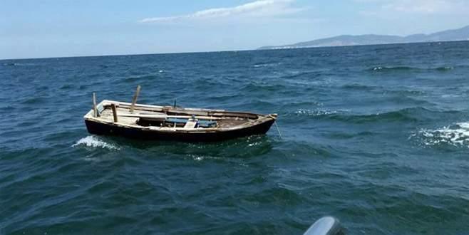 Mudanya açıklarındaki tekne, ekipleri harekete geçirdi