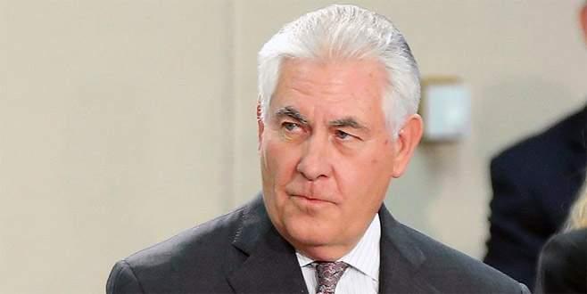 Tillerson, Türkiye'ye gelecek