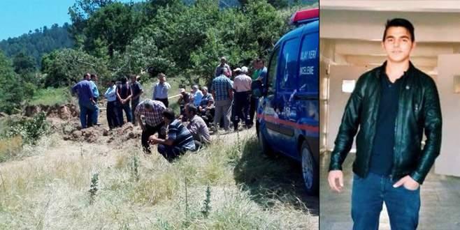 Bursa'da su kuyusu açmak isteyen genç göçük altında kaldı