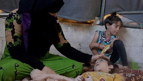 Suriyeli yetimler ve dul kadınların çadır kentte yaşam savaşı