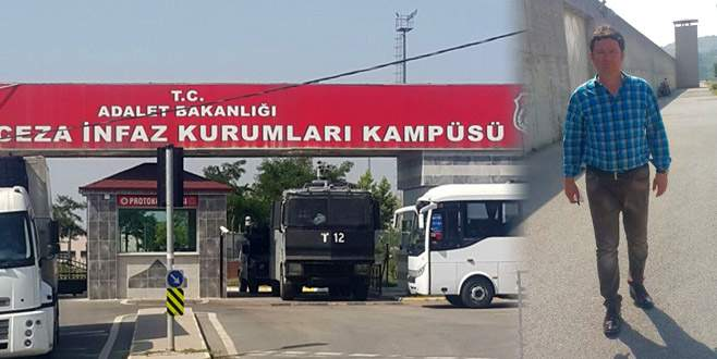 Aydın, Berberoğlu'nu cezaevinde ziyaret etti