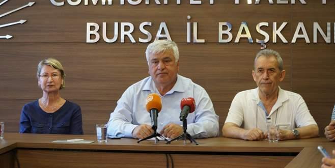 CHP Bursa'dan adalet mitingine davet