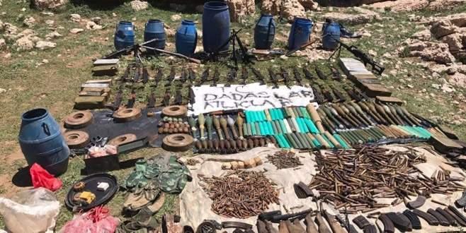 PKK'nın cephaneliği bulundu