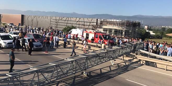 Bursa-Ankara karayolu yeniden ulaşıma açıldı