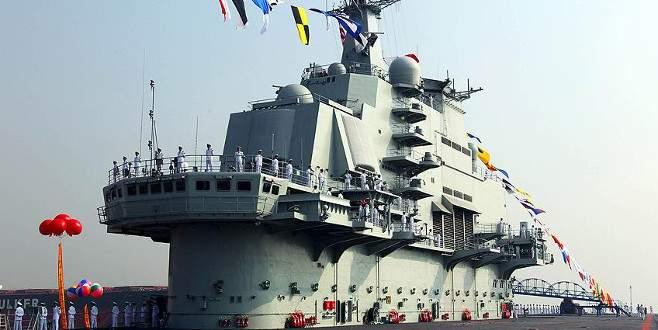 Çin'in ilk uçak gemisi yarın sivil ziyaretine açılacak