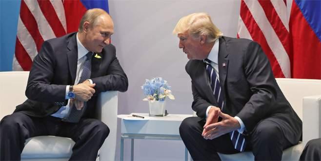 Trump ve Putin'in G20'deki görüşmesi başladı