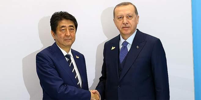 Erdoğan'dan Japonya Başbakanı'na sitem