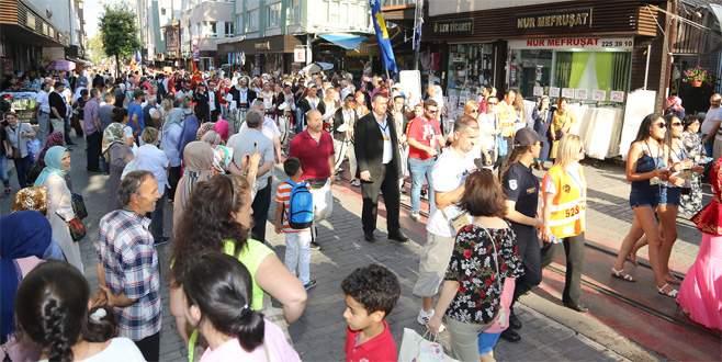 Bursa'da 'Altın Karagöz' renkleri