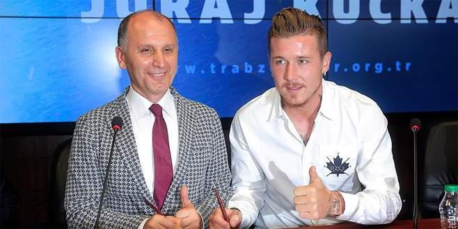 Trabzonspor Kucka'yı borsaya bildirdi