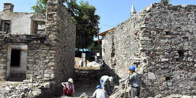 Tarihi hamamda 700 yıl önce kalorifer sitemi kullanılmış