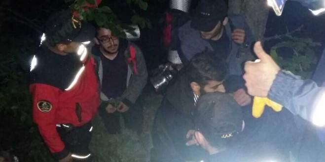 3 arkadaş sis bastırınca Uludağ'da kayboldu