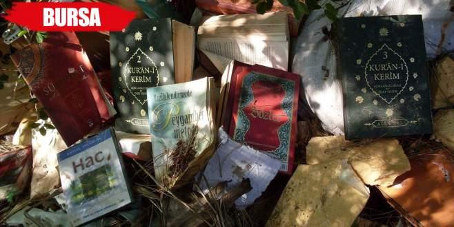 Doğa yürüyüşünde çöplerin içinde FETÖ'nün kitaplarını buldular