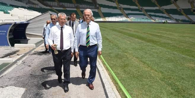 Büyükşehir Stadyumu'nun zemininde geçirgenlik 8 kat artıyor