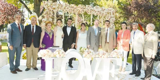 Bursa'yı buluşturan düğün