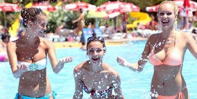 Antalya'ya turist akını