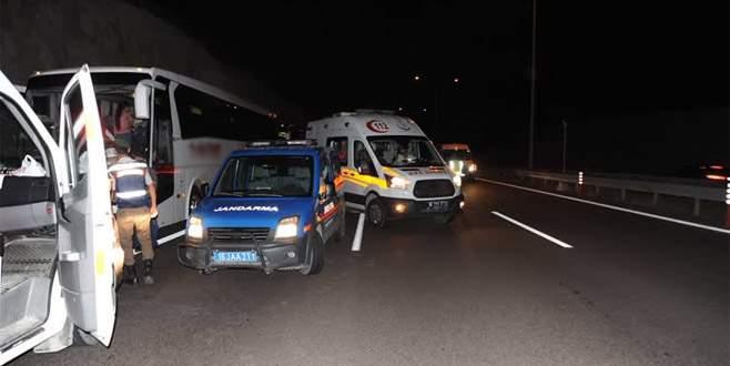 Bursa'da korkunç kaza: 2 ölü, 18 yaralı