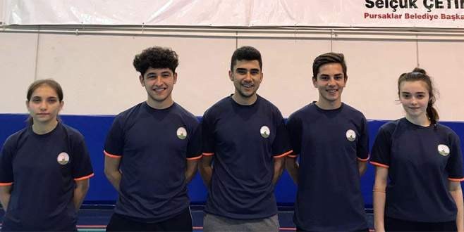 Osmangazili badmintoncular milli takımda