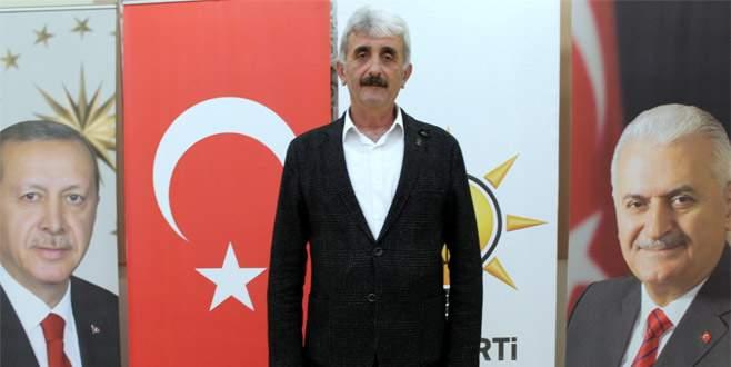 AK Parti Yenişehir İlçe Başkanı kazada yaralandı