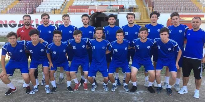 Gazi'de U19 topla buluştu