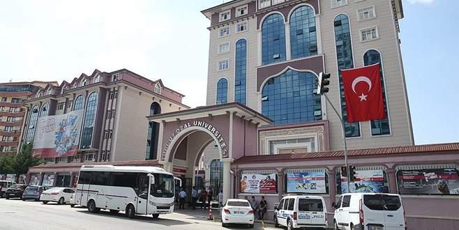 Kapatılan Turgut Özal Üniversitesi çalışanlarına gözaltı kararı