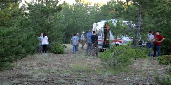Kozalak toplamaya giden anne ormanda ölü olarak bulundu