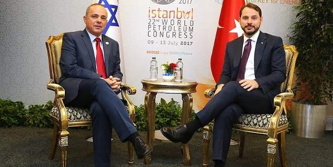 Bakan Albayrak, İsrailli mevkidaşı ile görüştü