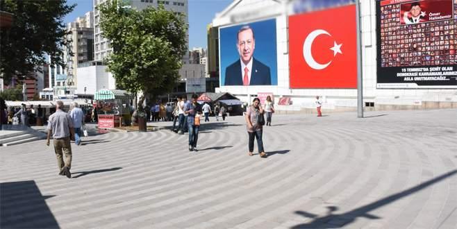 '15 Temmuz Demokrasi Meydanı' açılışa hazır