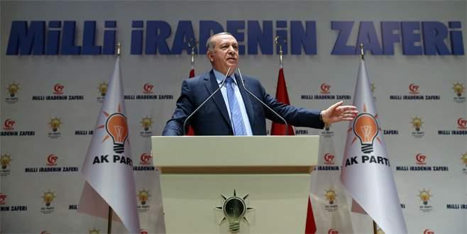Cumhurbaşkanı Erdoğan: Sokakta aranan adaletin adı intikamdır