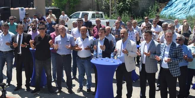 Kozluca Süt Toplama Merkezi hizmete açıldı