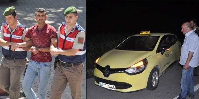 Taksi gaspçısı 110 güvenlik kamerası incelenerek yakalandı