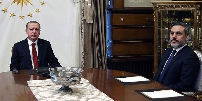 Erdoğan MİT Müsteşarı Hakan Fidan'ı kabul etti
