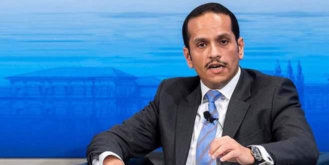Katar Dışişleri Bakanı Al Sani Türkiye'ye geliyor