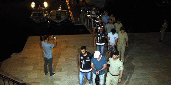 FETÖ'den aranan zanlılar Yunan adasına kaçmaya çalışırken yakalandı