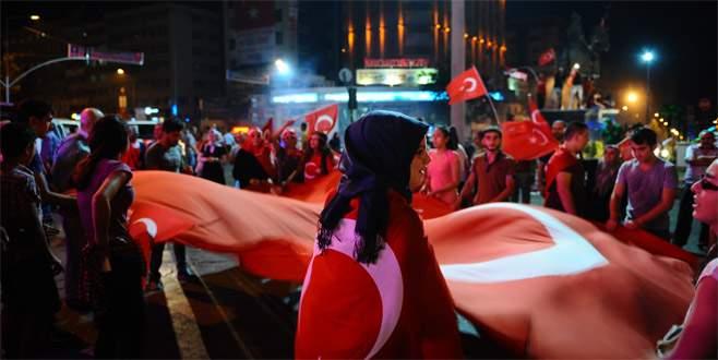Bursalılar 15 Temmuz'un yıldönümünde meydanda olacak