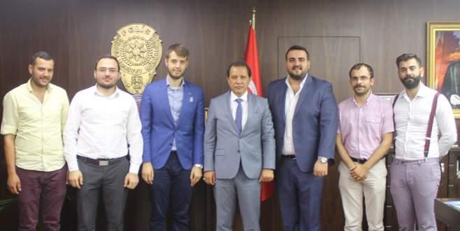 MÜSİAD'lı gençlerden Emniyet Müdürü'ne ziyaret