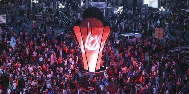 Ankara'daki 'Milli Birlik Yürüyüşü' yapıldı