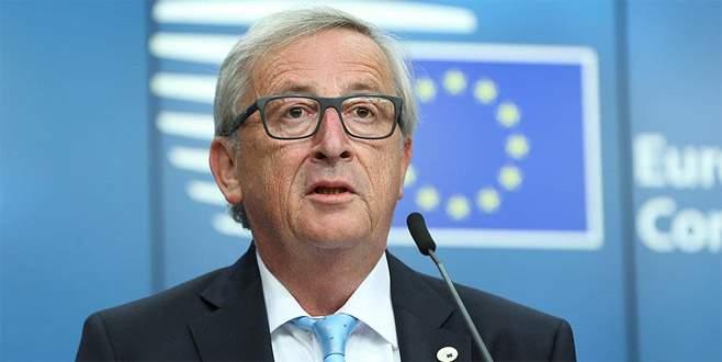 Juncker'dan 'Türkiye' mesajı
