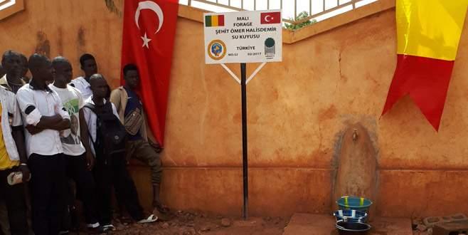 Şehit astsubayın ismi Mali'de yaşatılıyor