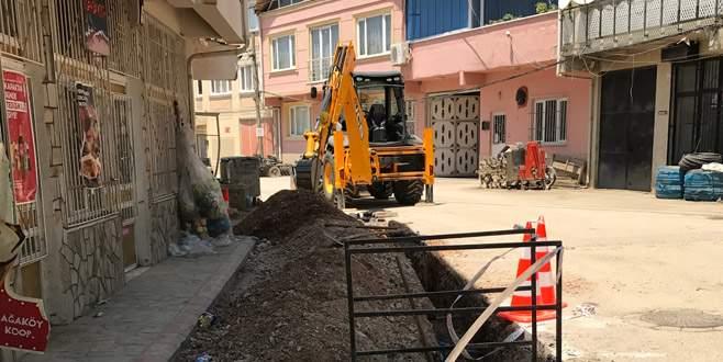Gürsu'da yeni mahalleler doğalgaza kavuşuyor