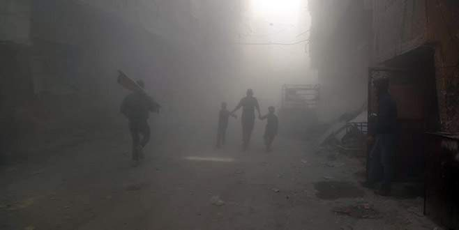 'Çatışmasızlık bölgesi'ne hava saldırısı