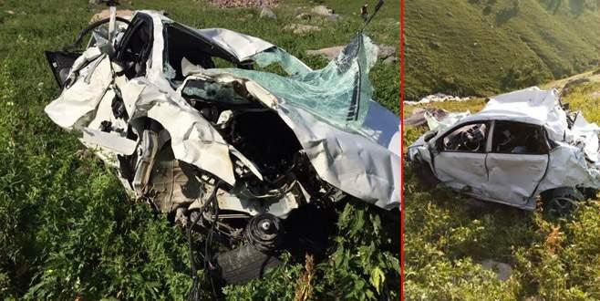 Feci kazada aynı aileden 4 kişi öldü