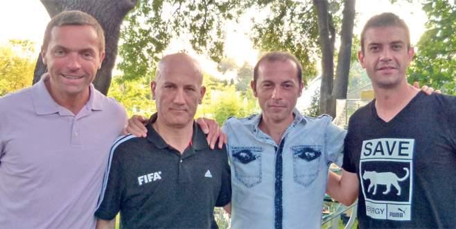 Süper lig hakemlerine Bursalı FIFA masörü