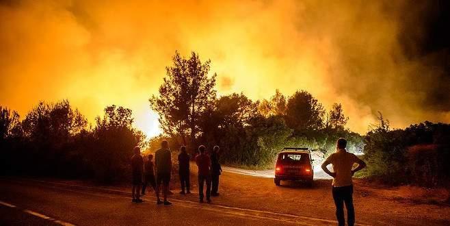 Batı Balkanlar'da orman yangınları