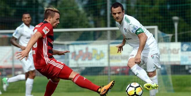 Bursaspor, FC Ingolstadt ile golsüz berabere kaldı