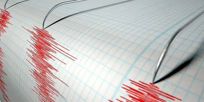 Saruhanlı'da 4 büyüklüğünde deprem