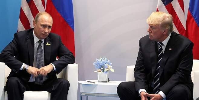 Trump Almanya'da Putin'le iki kez görüşmüş